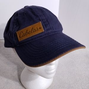 Cabela's Canada 'Denim & Leather Look' Cap/Hat
